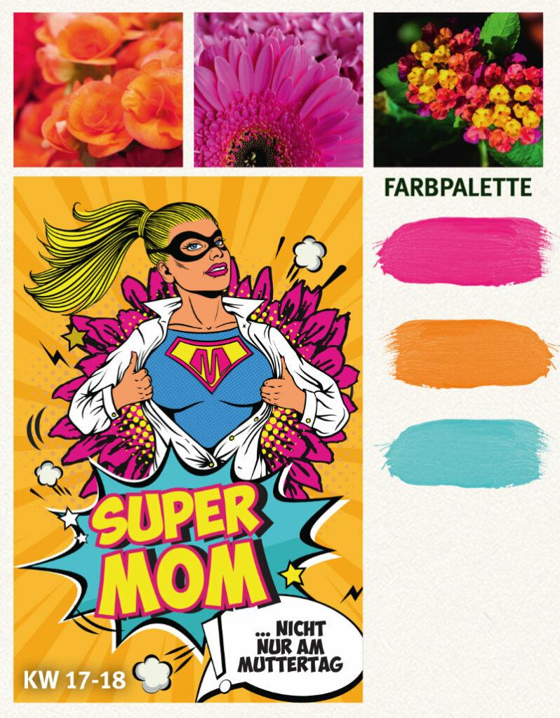 """Landgard Konzept """"Super Mom"""""""