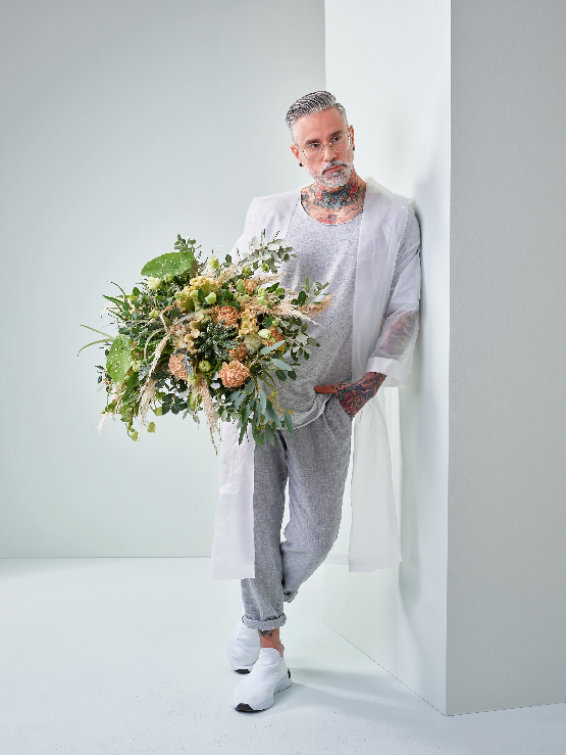 "Consumer Trend ""inner retreat"". ©FDF-Flower Style Trends 2020, J. Manegold powered by Blumenbüro Holland"
