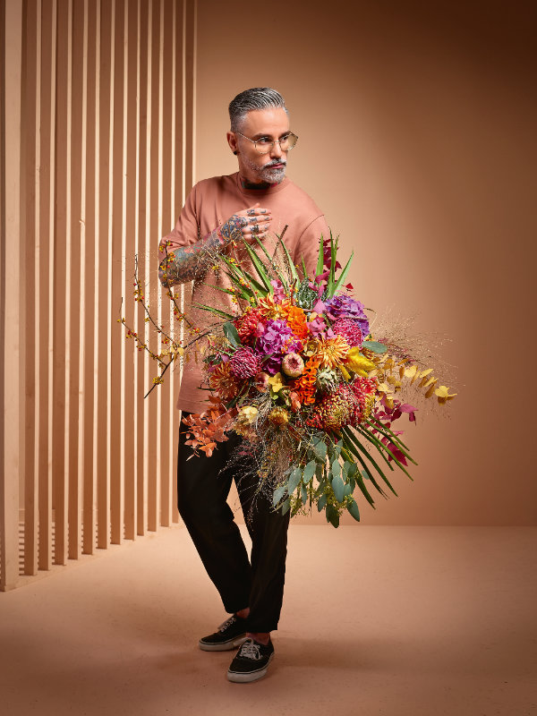 "Consumer Trend ""blended cultures"". ©FDF-Flower Style Trends 2020, J. Manegold powered by Blumenbüro Holland"