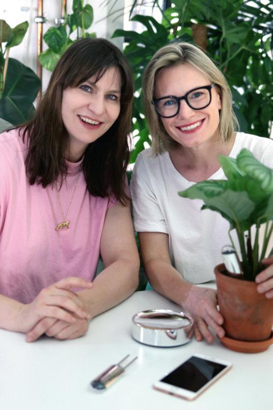 Claudia Nassif und Sylvie Basler sind die Gründerinnen von FYTA. Foto: FYTA