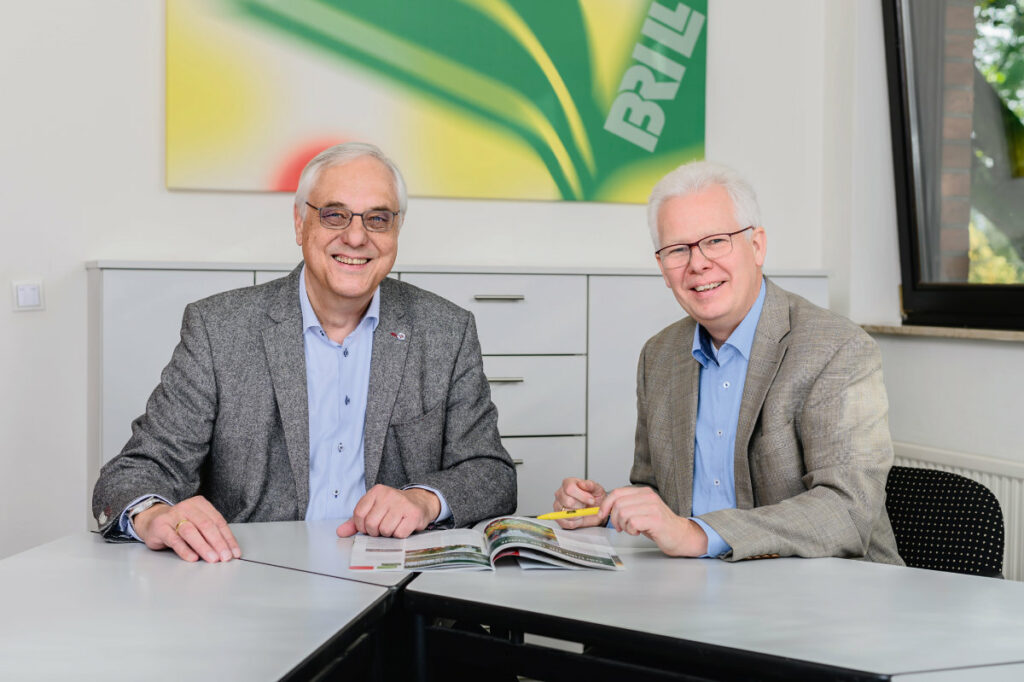 Gerrit Brill und Dr. Uwe Steinmeyer. – Foto: Brill
